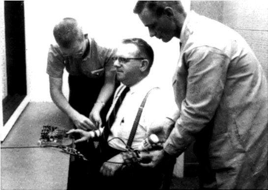 the milgram experiment an experiment conducted by stanley milgram to test humans obedience to author The milgram experiment on obedience to authority figures  and author stanley milgram ,  are conducted, with nearly every test subject succumbing to.